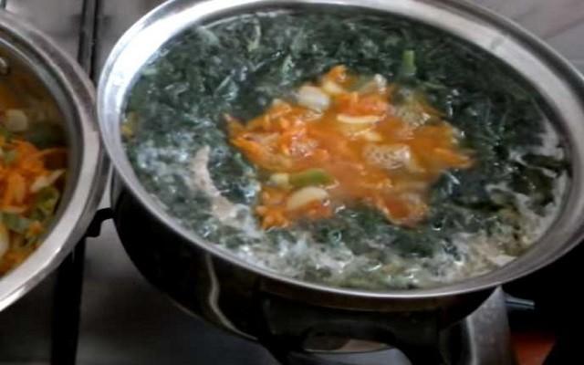 добавить в суп зажарку