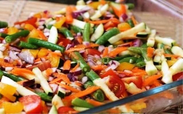 овощи на филе