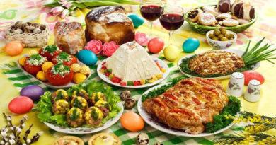 Меню на Пасху. Что приготовить на праздничный пасхальный стол — рецепты