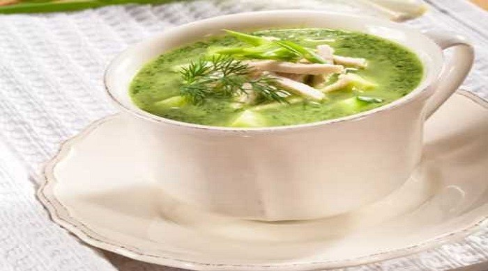 Ботвинья с курицей, рецепты приготовления холодной и горячей ботвиньи со свёклой или ботвой и зеленью, на квасе и на воде