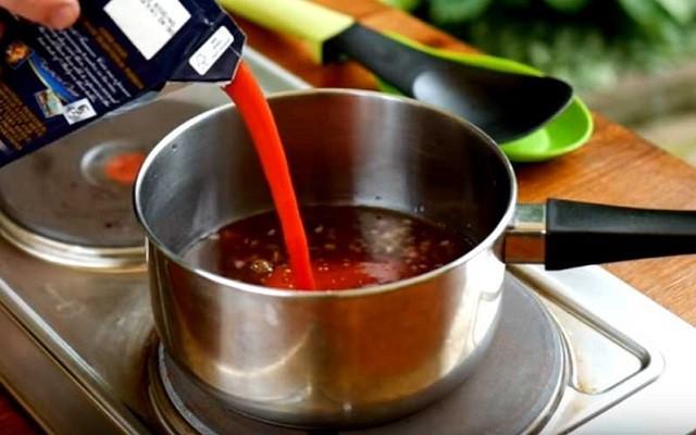 готовим соус барбекю