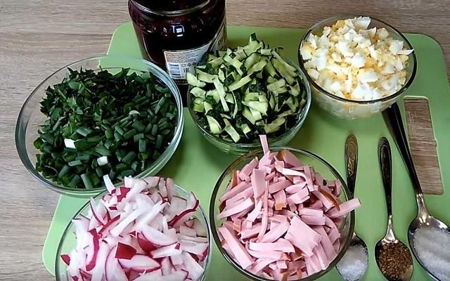 нарезаем продукты