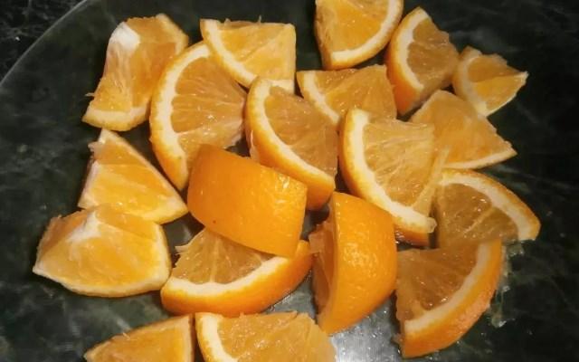 апельсин нарезанный