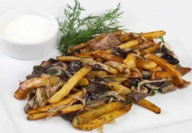 Вкусные жареные подосиновики с картошкой, луком, сметаной — пошаговые рецепты с фото