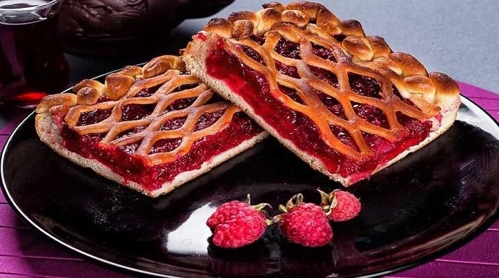 Малиновый пирог — 7 рецептов необыкновенно вкусного, ароматного, пирога с малиной