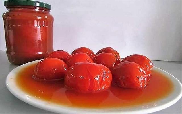 томаты с уксусом