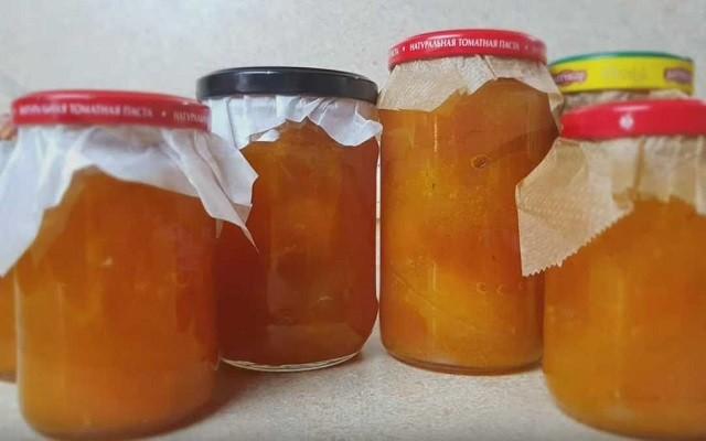 варенье из абрикосов на зиму на сковороде