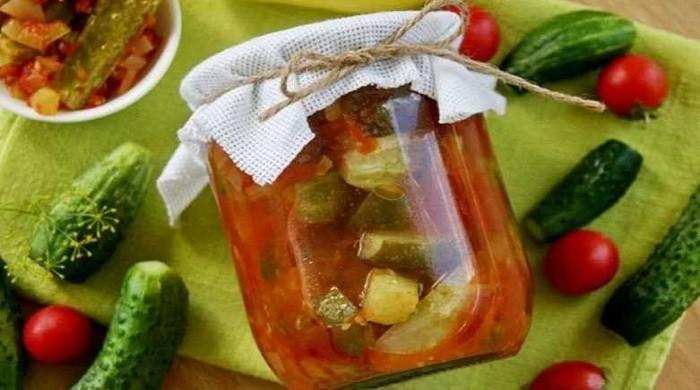 Рецепты приготовления лечо из огурцов, перца и помидоров — лучшие домашние заготовки