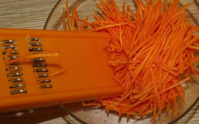 морковь тертая