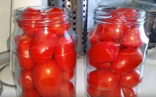 помидоры в банки