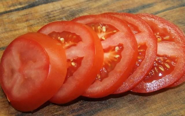 помидоры кружками