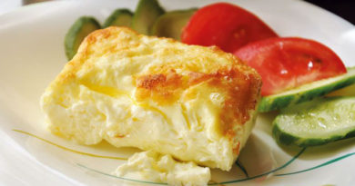 Как приготовить пышный омлет на сковороде — 6 отличных рецептов приготовления