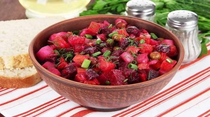 Как приготовить винегрет — рецепты приготовления вкусного салата, классические варианты