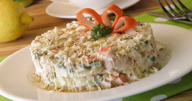 Рецепты приготовления вкусных салатов с крабовыми палочками на новогодний стол 2020
