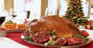 Основные блюда к Новому году