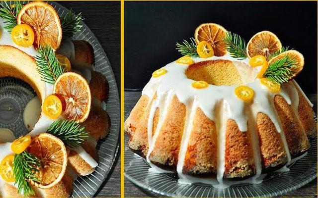 кекс с лимонной пропиткой