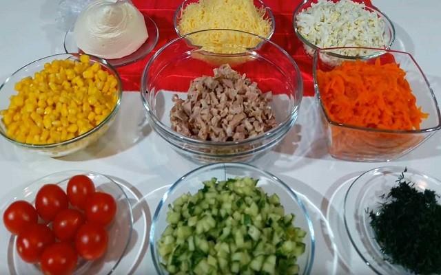 ингредиенты готовы