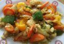 минтай с овощами